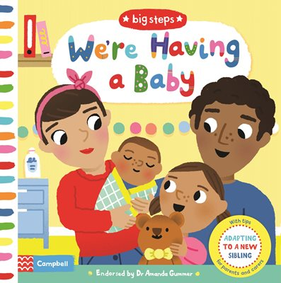 Book cover for We're Having a Baby